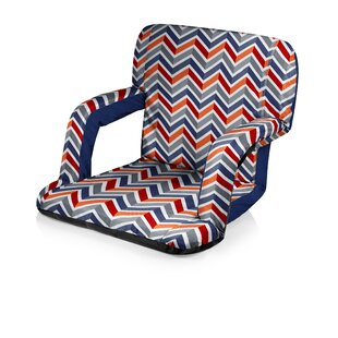 Shields Reclining Stadium Seat with Cushion by Freeport Park