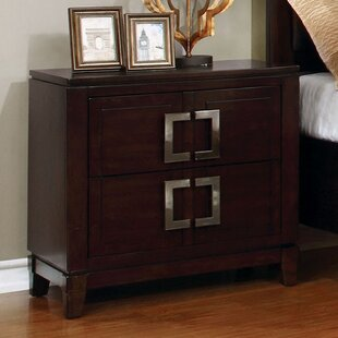 Meadowlakes 2 Drawer Nightstand
