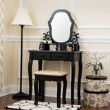 Pagedale Vanity Set with Mirror by House of Hampton®