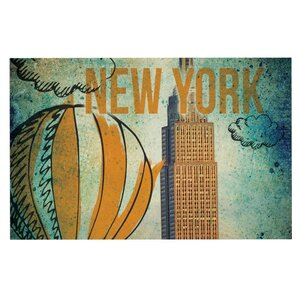iRuz33 'New York' Doormat