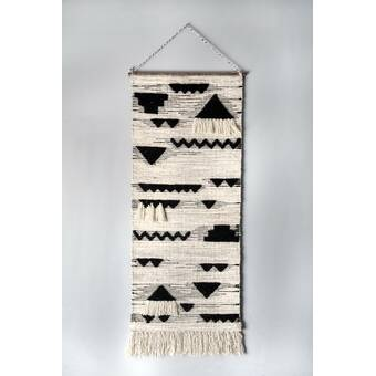 Cotton Wall Hanging With Rod Included Reviews Allmodern