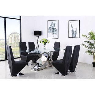 Act Dining Set With 4 Chairs By Metro Lane