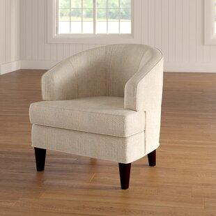 Crescent Barrel Chair by Red Barrel Studio