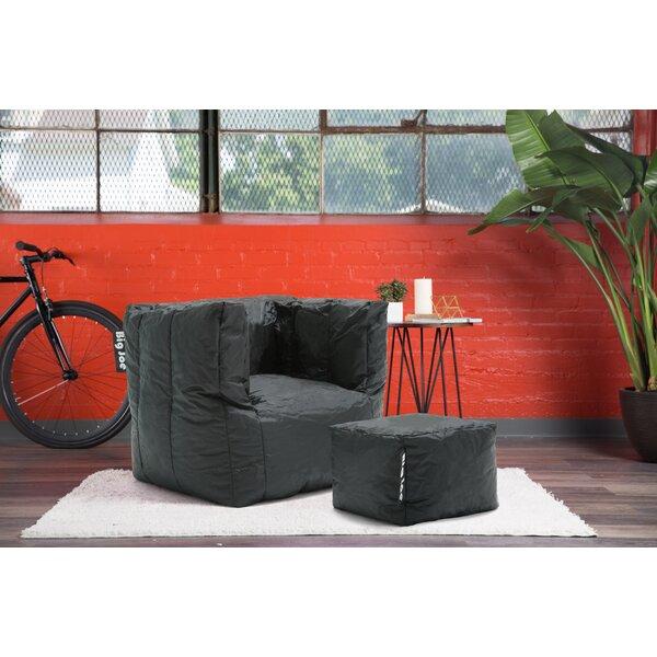 Remarkable Big Joe Cube Chair And Ottoman Wayfair Inzonedesignstudio Interior Chair Design Inzonedesignstudiocom