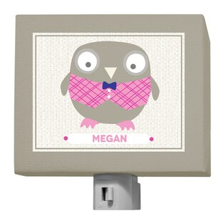 GreenBox Art Oopsy Daisy Happy Owl Megan Night Light