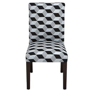 Celeste Marble Cube Parsons Chair