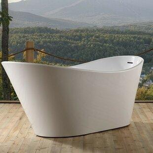Big Save Lavello 67 x 32  Freestanding Soaking Bathtub ByKube Bath
