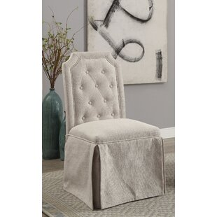 Sickmeier Upholstered Dining Chair Set (Set of 2) One Allium Way