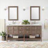 Olsen Console 73 Double Bathroom Vanity Set by Signature Hardware