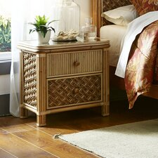 Mandalay 2 Drawer Nightstand by Spice Islands Wicker