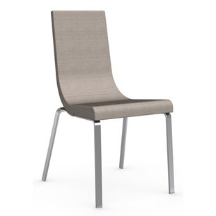 Inexpensive Cruiser Genuine Leather Upholstered Dining Chair ByConnubia