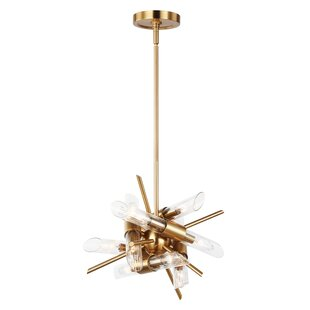 Mercer41 Atkins 12-Light Sputnik Chandelier