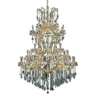 House of Hampton Regina Traditional 61-Light Candle Style Chandelier
