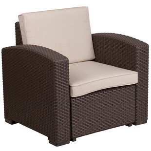 Breakwater Bay Clifford Faux Rattan Chair..