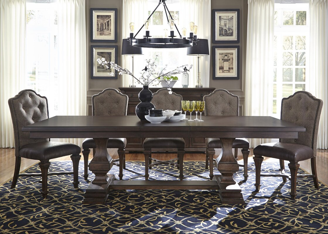 Lucca Double Pedestal Dining Table Top