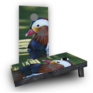 Custom Cornhole Boards Duck Hu..