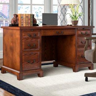 Darby Home Co Schueller Executive Desk