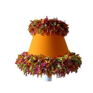 Segmented Citrus 11 Fabric Empire Lamp Shade