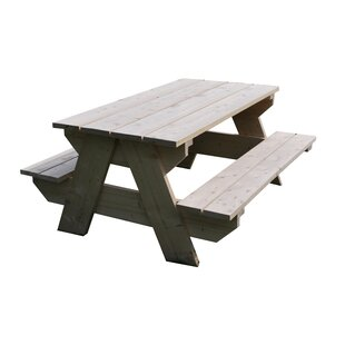 Union Rustic Picnic Benches