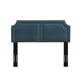 Edgardo Upholstered Panel Headboard by Charlton Home