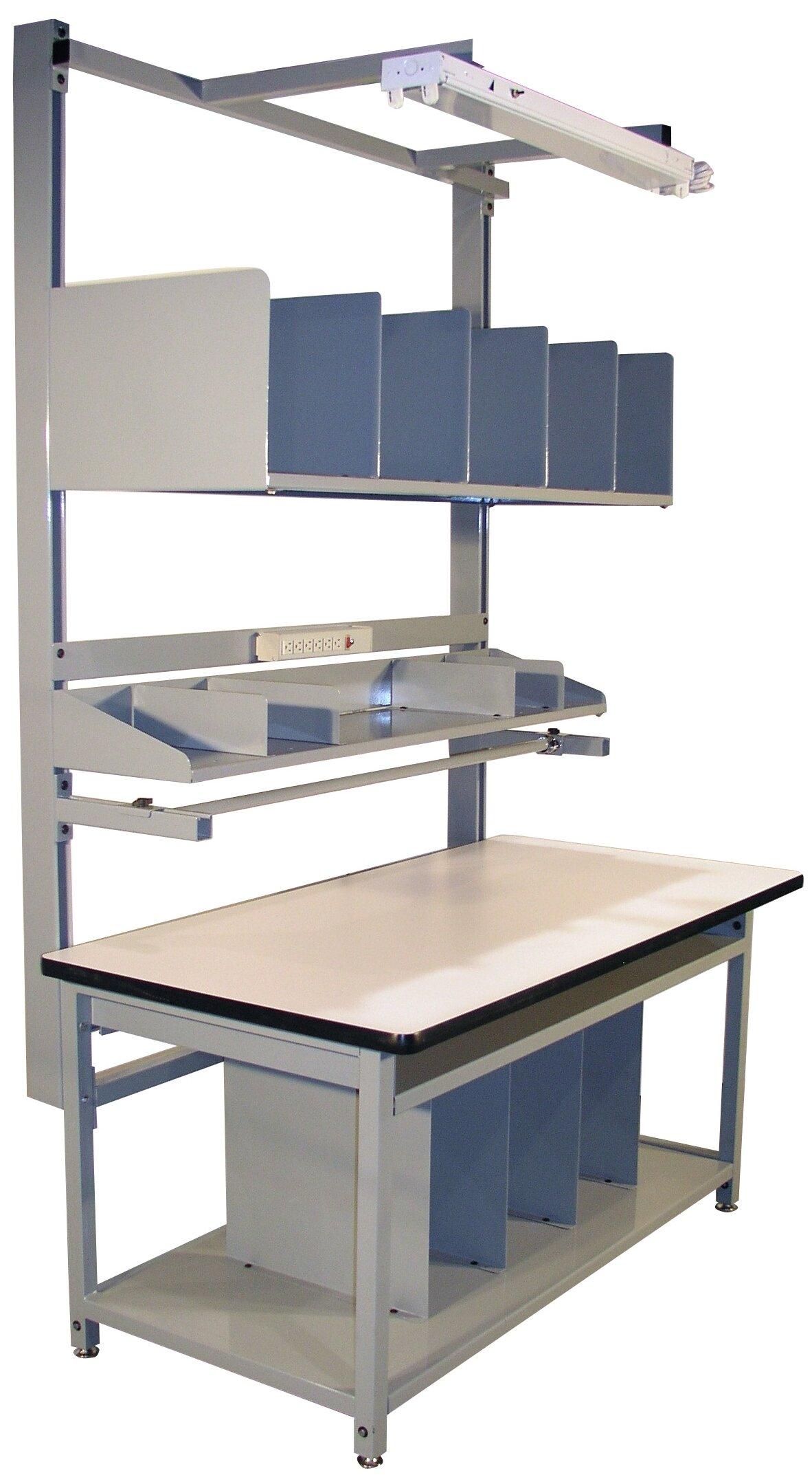 Pro-Line Desk Adjustable Height Workbench | Wayfair