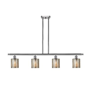 Inglestone Common 4-Light Kitchen Island Pendant by Orren Ellis