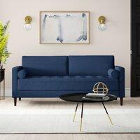 Deals on Mercury Row Garren 75.6-inch Square Arm Sofa