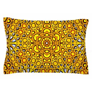 Philip Brown 'Golden Kaleidoscope' Sham