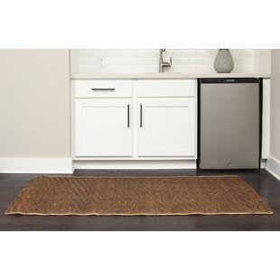 PeoPles Hand-Woven Brown Indoor/Outdoor Area Rug