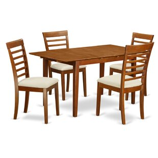 Picasso 5 Piece Extendable Dining Set by Wooden Importers Wonderful
