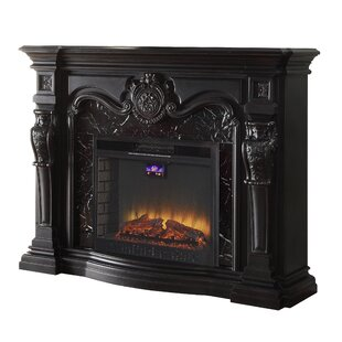 Breanna Electric Fireplace by Astoria Grand
