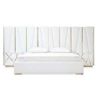 Foti King Upholstered Platform Bed