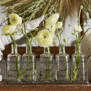 Patria 6 Piece Table Vase Set