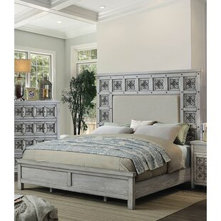 Cali Upholstered Panel Bed by Rosdorf Park Comparison