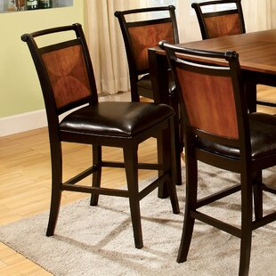Exquisite 7 Piece Counter Height Dining Set Hokku Designs