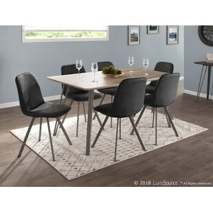 Pinnix 7 Piece Dining Set by Union Rustic