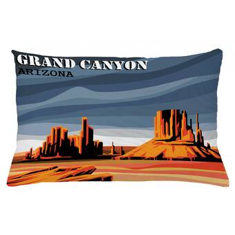 East Urban Home Canyon Indoor Outdoor Lumbar Pillow Cover Wayfair