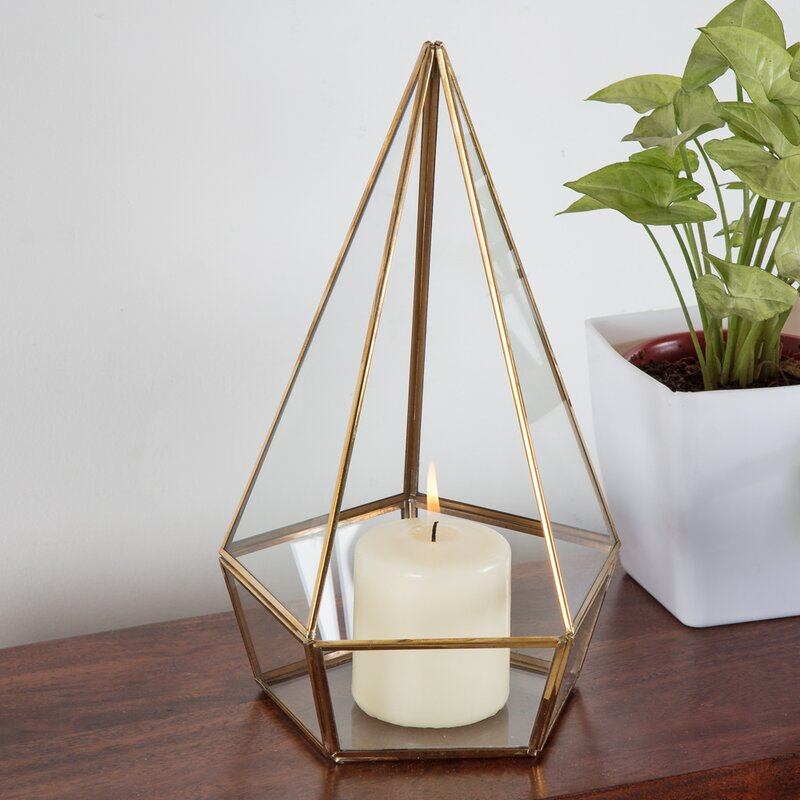 Laterne Colophon Aus Glas
