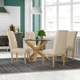 5f9d100f34299 Oporto Dining Set with 4 Chairs