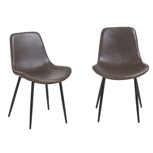 Paulita Vintage Upholstered Dining Chair (Set of 2)