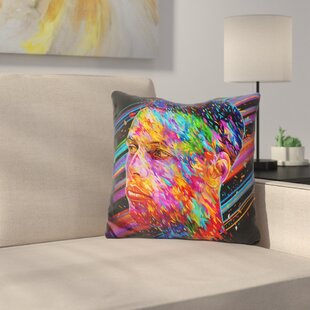Stephen Curry Throw Pillow ByEast Urban Home