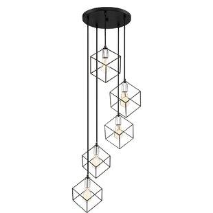 Theodorus 5-Light Cluster Pendant by Wrought Studio