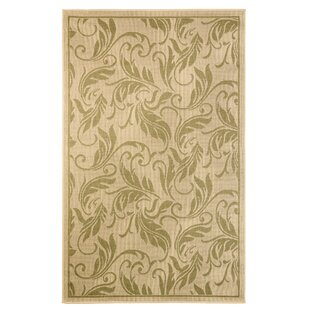 Duval Beige/Green Indoor/Outdoor Area Rug