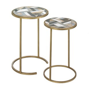 Deals Montecito Round 2 Piece Nesting Tables by Nikki Chu