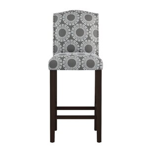 Edford Arched Medallion 31 Bar Stool Wrought Studio