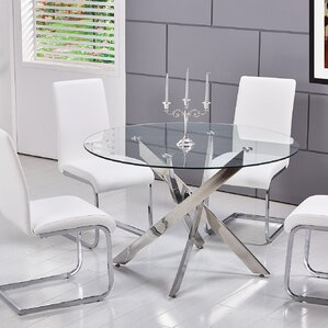 Modern Clear Dining + Kitchen Tables | AllModern