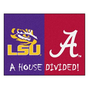 House Divided - LSU / Alabama Doormat ByFANMATS