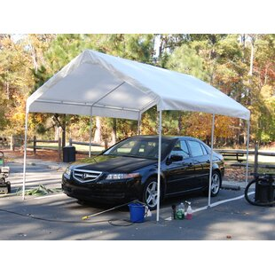 Universal 10.5 Ft. x 13 Ft. Canopy  sc 1 st  Wayfair & Carports Car Shelters u0026 Portable Garages Youu0027ll Love | Wayfair