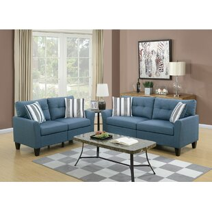 Best Reviews Channahon 2 Piece Living Room Set by Alcott Hill Reviews (2019) & Buyer's Guide