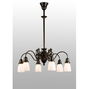 Meyda Tiffany Binghamton Goblet 6-Light Shaded Chandelier